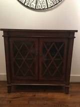 Accent Cabinet, Warm Brown Wood in Bellaire, Texas