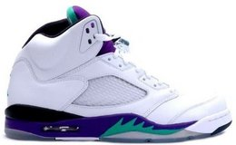 2013 Air Jordan Grapes size 7 nib in Chicago, Illinois