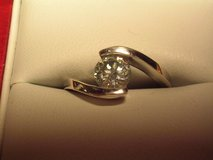 1ct. Moissanite Diamond Engagement Ring in El Paso, Texas