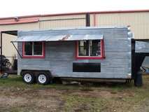 Franklin Styled Commercial BBQ Pit Trailer in Kingwood, Texas
