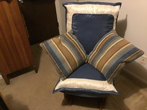 Real Wood Reupholster Cushion Rocking Chair in Camp Lejeune, North Carolina