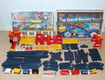 Tomy Tomyville Train Sets Compatible with Lego Tyco Building Blocks in Bolingbrook, Illinois