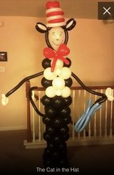 The cat in the hat balloon column in Spring, Texas