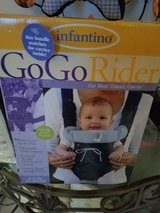 Infantino go go rider carrier new in Plainfield, Illinois