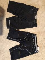 2 youth hockey compression shorts/ cup in Oswego, Illinois