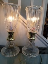 Set of 2 Glass Lamps in Naperville, Illinois