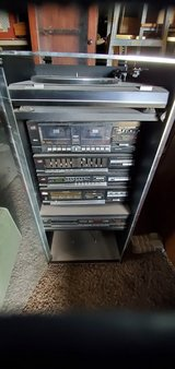 LXI Stereo and Stereo Cabinet in Alamogordo, New Mexico