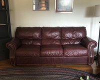 FREE Leather Couch in Fort Leonard Wood, Missouri