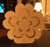 Unfinished Wooden Flower Light in Batavia, Illinois
