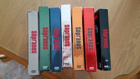 Sopranos DVD all seasons 7 box set in Orland Park, Illinois