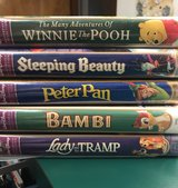 Disney Masterpiece VHS tapes - 5 total in Bartlett, Illinois