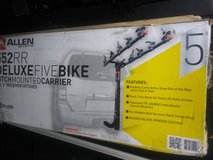 5 bike hitch mounted rack for 2in hitch in Joliet, Illinois