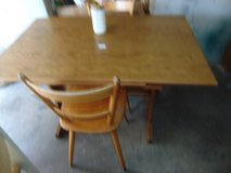 PCSing table and 2 chairs in Ramstein, Germany