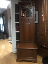 Bench Seat With Storage, Coat Hooks, Mirror, Top Shelf in Naperville, Illinois