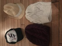 Hats for winter and summer in Westmont, Illinois