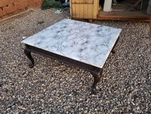 Large faux marble coffee table in Alamogordo, New Mexico