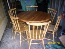 pine table and 6 chairs in Lakenheath, UK