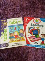 Children's times tables and spelling book age 6-7 in Lakenheath, UK