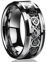 CLEARANCE***BRAND NEW***Celtic Dragon Titanium Men's Wedding Band*** in The Woodlands, Texas