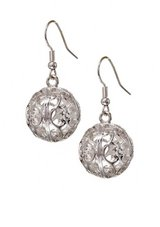 CLEARANCE *BRAND NEW*Large ROUND Ball Filligree Earrings*** in The Woodlands, Texas