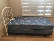 Twin bed with headboard in Joliet, Illinois