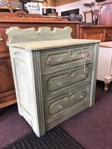 Painted Green Washstand in Naperville, Illinois