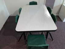 SMALL RECTANGLE PRESCHOOL ACTIVITY TABLE AND CHAIRS in Camp Pendleton, California
