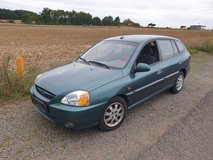 KIA RIO! AUTOMATIC! NEW INSPECTION! 2003 YEAR! Only 49.000 miles! IN RAMSTEIN! in Ramstein, Germany