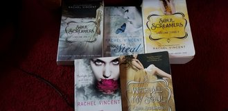 Five Wonderful Soul Screamers Series books By Rachel Vincent 9 stories in Lakenheath, UK
