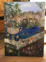 Old painting Alexi Allens in Yucca Valley, California