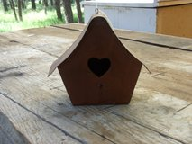 Rustic Metal Birdhouse in Alamogordo, New Mexico
