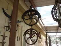 Antique Pulleys in Alamogordo, New Mexico