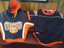 NFL 6-9 month Bronco Onesie and Top in Alamogordo, New Mexico