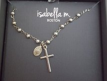 Isabella M Boston Sterling Silver Cross Necklace in Chicago, Illinois