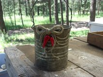 Rustic Metal Pail in Alamogordo, New Mexico