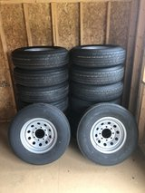 235/80/16 8 Lug Trailer Wheels and Tires in DeRidder, Louisiana