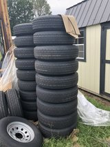 205/75/15 5 lug trailer wheels and tires in DeRidder, Louisiana