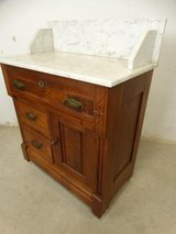Antique Marble Top Vanity Table in Pearland, Texas