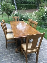 french vintage country table + 6 chairs in Ramstein, Germany