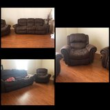 3 pcs couch set in Camp Lejeune, North Carolina