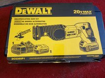 dewalt reciprocating saw 20 v max in Cleveland, Texas