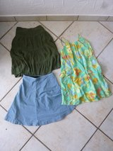 size 10/12 skirts and sun dress in Stuttgart, GE