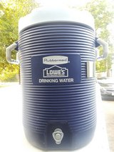 Lowes water jug in Houston, Texas