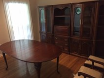 Formal Dining Room Table and 6 Chairs in Wilmington, North Carolina