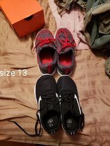 Size 13 boy shoes never worn in Fort Leonard Wood, Missouri