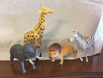 Plastic Safari Animal Toys in Bartlett, Illinois