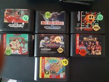 Several Sega Genesis games in The Woodlands, Texas