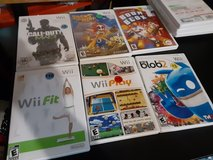 Several Wii games in The Woodlands, Texas