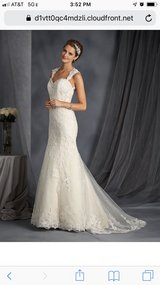 wedding dress in CyFair, Texas