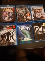 Several Blue Ray movies in Kingwood, Texas